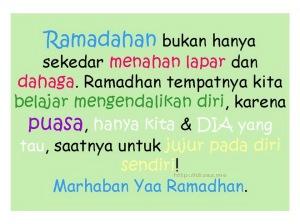 Kata Ucapan Menyambut Ramadhan