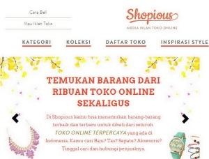 Belanja Mudah di Toko Online Shopious