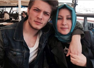 Burak Tozkoparan and his mam