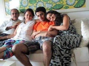 Harshad Arora n Family