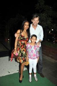 Suchitra Pillai, Suami dan anak