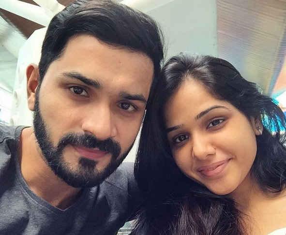 Mrunal Jain and His Wife Sweety Jain