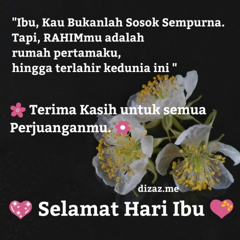 Kata Ucapan Hari Ibu Happy Mothers Day