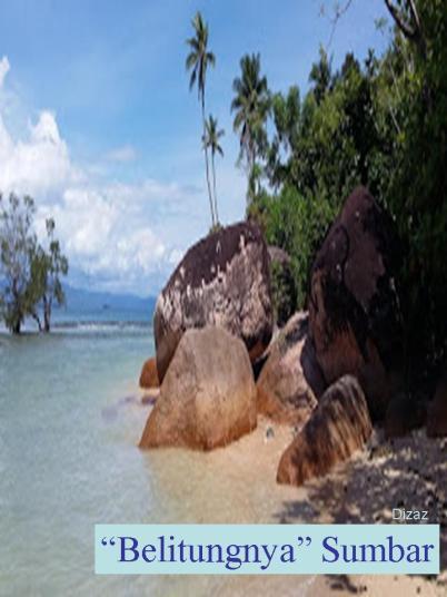Pantai Batu Kalang Belitungnya Sumbar