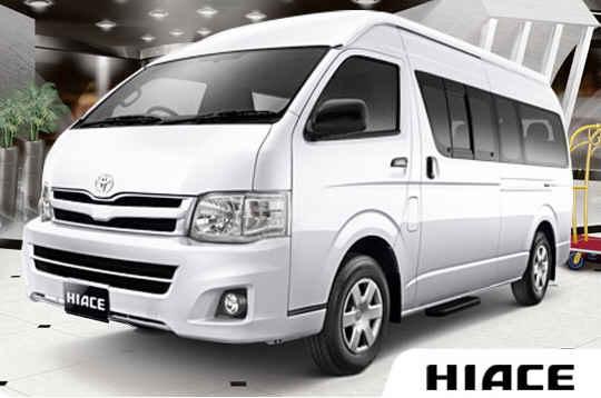 Toyota Hiace Microbus Mewah
