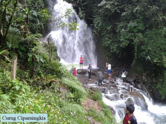 Curug Cipamingkis Kabupaten Bogor