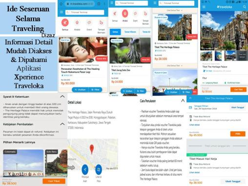 Menjajal #XperienceSeru Traveloka di Surakarta