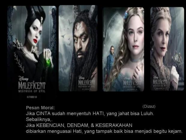 Pesan moral film Maleficent