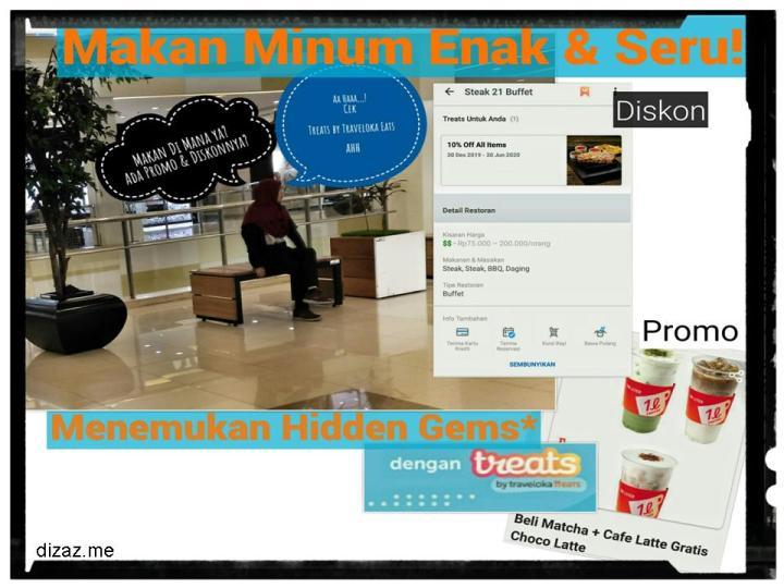 Treats by Traveloka Eats Banyak Diskon