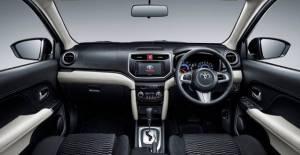 Interior Toyota Rush terbaru sangat nyaman dan mewah