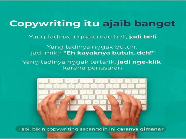 ajaibnya copywriting iklan